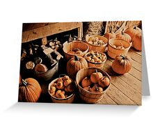 Vermont Pumpkins Greeting Card