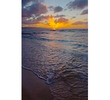 North Shore Sunset Photographic Print