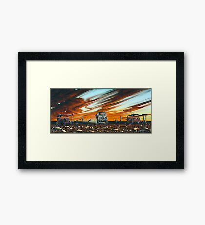Changing of the Guard Framed Print