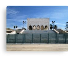 Mausoleum of Mohammed V, Rabat, Morocco Canvas Print