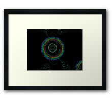 Rainbow Mandelbrot Framed Print