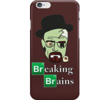 Breaking Brains  iPhone Case/Skin