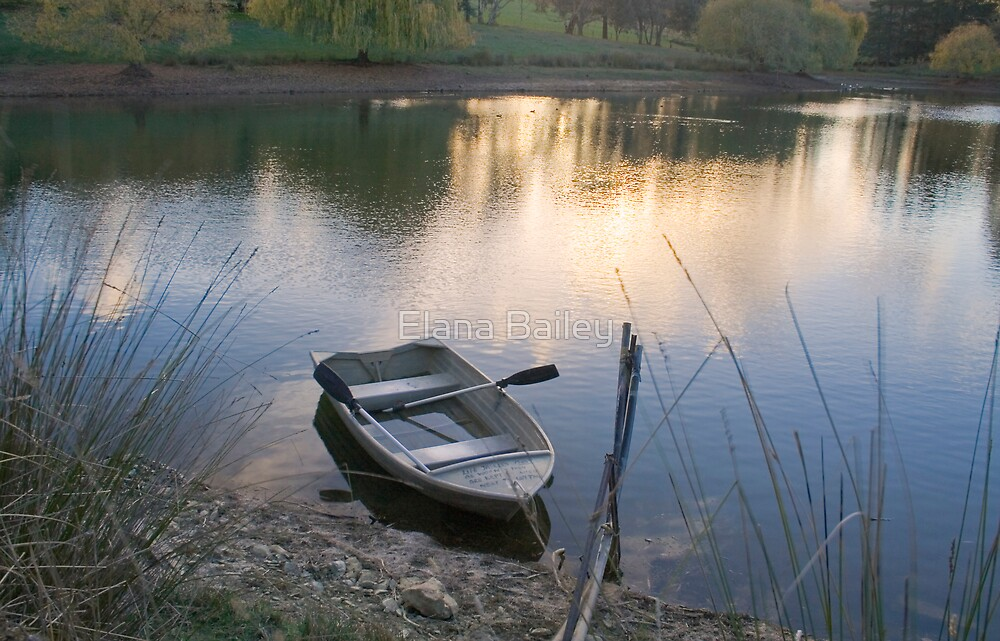 The Empty Rowing Boat, Adelaide Hills by Elana Bailey