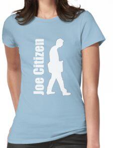 Joe walks the walk Womens Fitted T-Shirt
