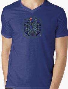 The Dragon's Knot Mens V-Neck T-Shirt