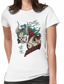吉光 Yoshimitsu, Leader Of The Honorable Manji Clan Womens Fitted T-Shirt