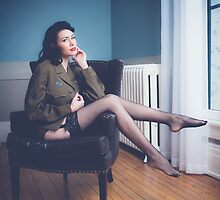 Classic Pinup Brittany Jean by McClurePhoto