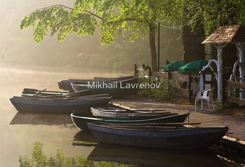 Waterside cafe by Mikhail Lavrenov