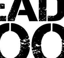 Read a book!  Sticker