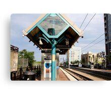 Trains to Hoboken Canvas Print