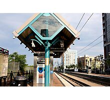 Trains to Hoboken Photographic Print