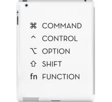 Apple Keyboard Commands iPad Case/Skin