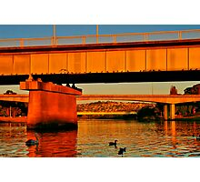 """""""There's More Than One Way To Cross a River"""" Photographic Print"""