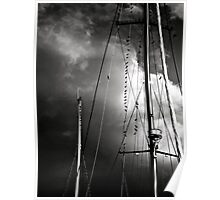 Towering Masts Poster