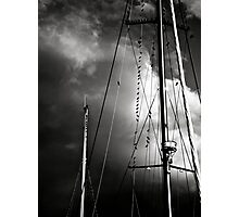Towering Masts Photographic Print