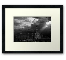 Kingdom Comes Framed Print