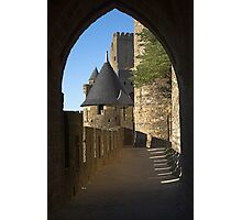 Carcassonne castle Photographic Print