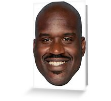 "Shaquille O'Neal - ""What a head"" Greeting Card"