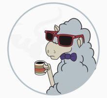 Hipster Llama - Pastel Baby Tee