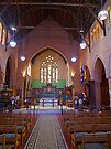 Christ Church Cathedral, Grafton, NSW, Australia (interior) by Margaret  Hyde