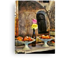 Home Baking Canvas Print