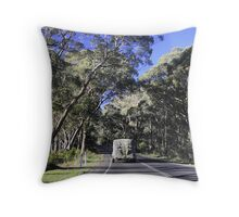 Hauling Feed Throw Pillow