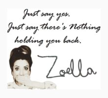 Zoella - Just say yes! by KlaineFtOakley