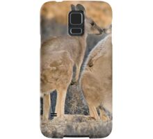 Kissing Kangaroos Samsung Galaxy Case/Skin
