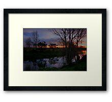 Colours of Winter Framed Print