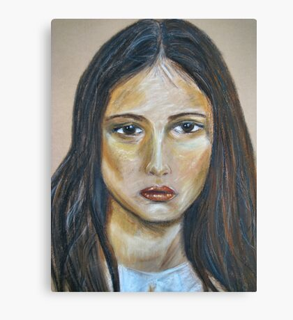 Sad Sally Canvas Print