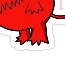 Unleash hell Sticker