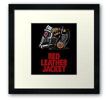 Red Leather Jacket Framed Print