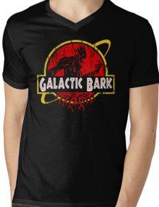 Galactic Bark Mens V-Neck T-Shirt