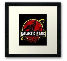 Galactic Bark Framed Print