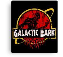 Galactic Bark Canvas Print