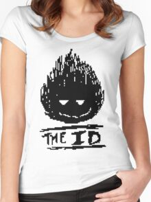 The Id Women's Fitted Scoop T-Shirt