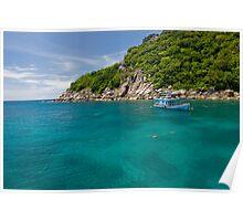 Emerald Water Of Koh Tao Poster