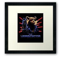 The Verminator Framed Print