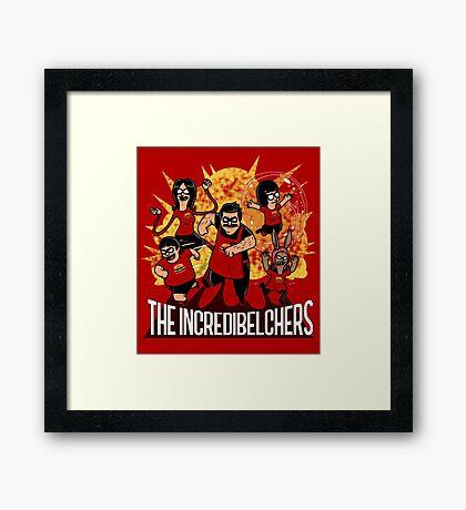 The Incredibelchers Framed Print