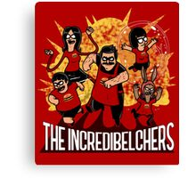 The Incredibelchers Canvas Print