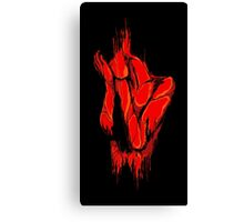 Blood Bath Canvas Print