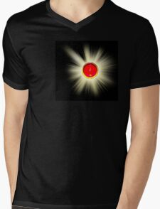 Brisby's Stone Mens V-Neck T-Shirt