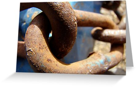 in chains by Jan Stead JEMproductions