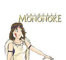 princess mononoke  by aaron stockton