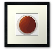 In a cup of tea   Framed Print