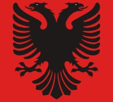 Albanian Eagle / Flag by Adam Roper