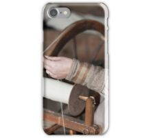craftsman who spins the wool iPhone Case/Skin