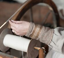 craftsman who spins the wool by spetenfia