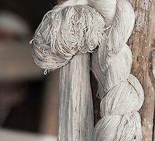 skeins of wool woven by spetenfia
