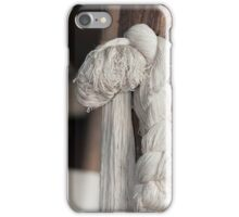 skeins of wool woven iPhone Case/Skin